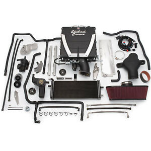 Edelbrock 1595 E force Stage 3 Supercharger Kit 2005 07 Corvette Ls2