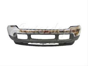 For 01 04 03 02 Ford F250 F350 F450 F550 Front Bumper Chr Up Lo Valance Set 3 P