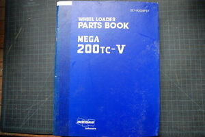 Daewoo 200tc Wheel Loader Parts Manual Book Catalog Spare Index Shop Pay List