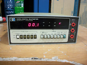 Hp 3435a Digital Multimeter