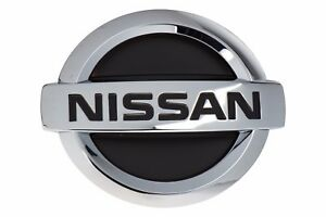 2004 2006 Nissan Altima Chrome Front Grille Emblem Logo Nameplate Badge Oem New