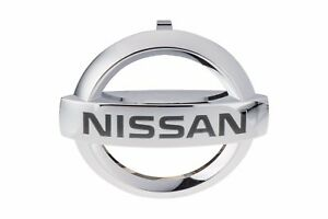 2009 2015 Nissan Maxima Front Grille Emblem Badge Chrome Genuine Oem Brand New