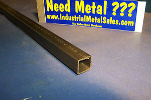 1 X 1 X 48 long 4130 Steel Square Tube X 065 Wall 4130 1 Sq X 065 wall