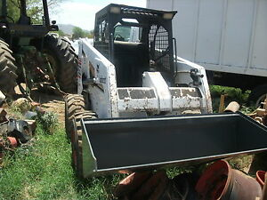 Bobcat 863 New Bucket 1999 Year Runs Great Low Hrs