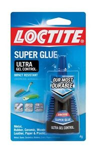 Henkel loctite 1363589 10 Pack 4 Gram Super Glue Ultra Gel Control Clear