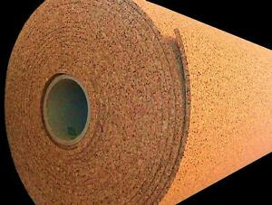 25 x4 x1 4 Thick Cork Roll Sheet Bulletin Board Panel Acoustic Sound Wall Tile