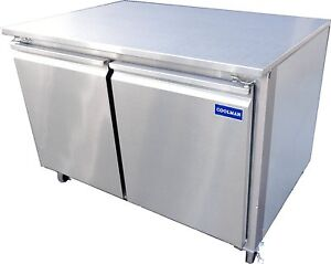 Coolman Commercial 2 door Low Boy Worktop Freezer 60