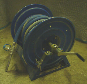 Used Coxreels 1125 5 100 3 4 Hand Crank Hose Reel 60 Day Warranty