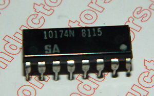 10174 Integrated Circuit Lot Of 5 Pieces