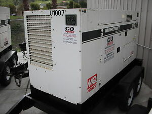 100 Kw Commercial Portable Generator From Gotpower