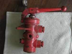 Farmhand Tractor B722 Valve New Old Stock W Plastic Protective Plugs Farm Hand