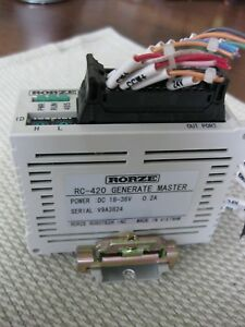 Rorze Rc 420 Generate Master On Din Rail Robotech Dc 18 36vdc Robotics