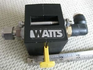 Watts Model Sv75 03 300 Psi Push Button Shut off Valve Pneumatic Usa