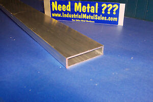 1 X 4 X 60 X 1 8 Wall 6063 Aluminum Rectangle Tube 1 X 4 X 125 Wall
