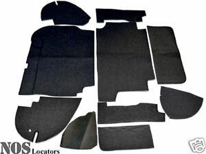 Austin healey 100 6 3000 Armacord Trunk Liner Kit Concours Grade