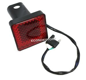 2 Trailer Hitches Hitch Cover Brake Light For Standard