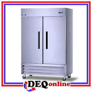 Arctic Air Af 49 Two Door Commercial Reach in Freezer 49 Cu Ft