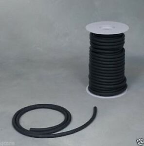 50ft Black Rubber Surgical Latex Tubing 1 4 Id 3 8 Od 1 16 Wall Feet Reel Ro
