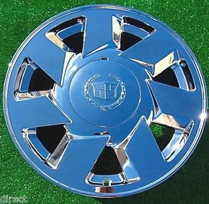 Cadillac Deville Dts Chrome Wheel 2000 2001 2002 New Oem Factory Spec 17 In 4553