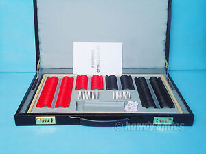 Trial Lens Set 266pcs Optical Trial Lens Case Plastic Rim Leather Case