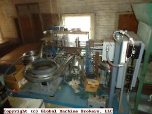 Assembly Machine 3 Vibratory Bowls And Steel Table