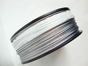 Galvanized Snare Cable 3 32 7x7 1000 Ft Reel Snaring Trapping Supplies