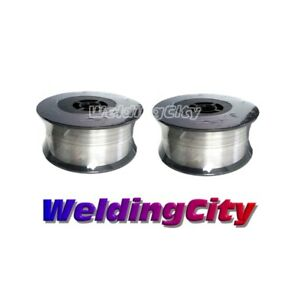 Weldingcity Stainless 308l Mig Welding Wire Er308l 045 1 2mm 2 lb Roll 2pk