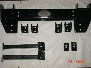New 99 Chevy Gm 1500 Unimount Western Plow Mount Uni Hitch Bracket Cheverolet