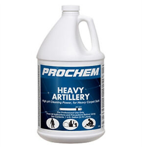 Prochem Heavy Artillery High Ph Cleaning Power For Heavy Carpet Soils 1 Gal