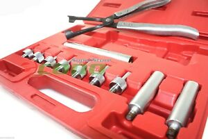 Valve Stem Seal Removal Installer Kit Tool Remover Pliers Seal Adapters