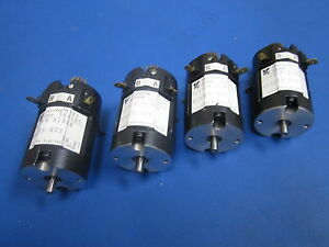 Lot Of 4 Yaskawa Electric Minertia Motor Mini Series Ugtmem 01mb4