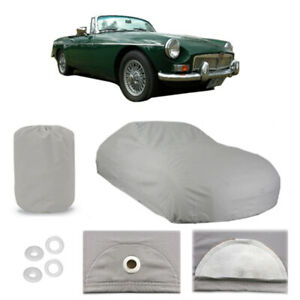 1960 1979 Mg Midget 4 Layer Car Cover Fitted Water Proof Snow Rain Sun Dust
