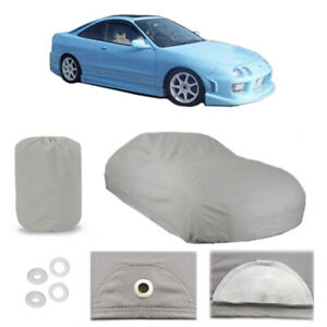 Fits 1986 2001 Acura Integra 4 Layer Car Cover Fitted Water Proof Snow Rain Dust