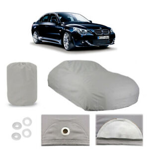 Bmw 5 Series 4 Layer Car Cover Fitted In Out Door Water Proof Rain Snow Sun Dust