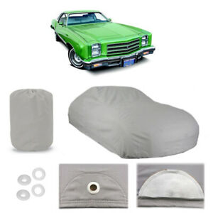 Chevy Monte Carlo 5 Layer Car Cover Outdoor Water Proof Rain Snow Sun 2nd Gen