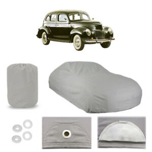 Ford Deluxe 4 Layer Car Cover Fitted In Out Door Water Proof Rain Snow Sun Dust