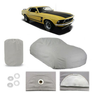 Ford Mustang 4 Layer Car Cover Fitted Outdoor Water Proof Rain Sun Dust 1st Gen