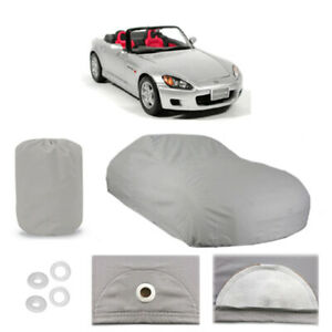 Fits Honda S2000 5 Layer Car Cover Fitted In Out Door Water Proof Rain Snow Dust