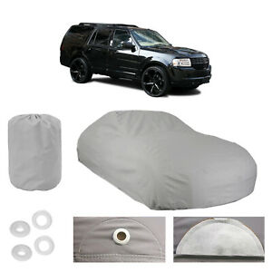 Lincoln Navigator 4 Layer Suv Car Cover Fitted Outdoor Water Proof Rain Sun Dust