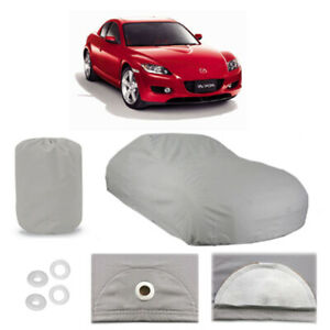 Mazda Rx 8 5 Layer Car Cover Fitted In Out Door Water Proof Rain Snow Sun Dust