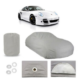 Porsche 911 4 Layer Car Cover Fitted In Out Door Water Proof Rain Snow Sun Dust