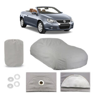 Volkswagen Eos 4 Layer Car Cover Fitted Outdoor Water Proof Rain Snow Sun Dust