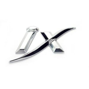 Tuning Ix Logo Emblem Metal Chrome For 2010 2014 Hyundai Tucson Ix35