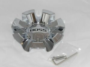Boss Motorsports 332 Wheel Rim Chrome Center Cap Acc 3237 06 New W Screws