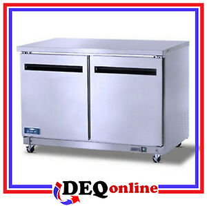 Arctic Air Auc48f Two Door Under counter Worktop Freezer