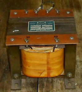Meteor 1 5 Kva Control Transformer Mtf1500 1 Ph 240 480 120 Used Warranty