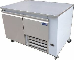 Coolman Commerical 1 Door 1 Drawer Low Boy Worktop Refrigerator 48