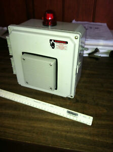 Overfill High Level Alarm W Test Button Acknowledgment Switch For Veeder root