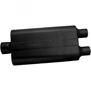 Flowmaster 50 Series Delta Flow Muffler 3 Center In 2 25 Dual Out 9430522