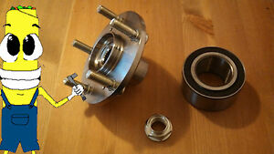 Acura Rsx non Type s Front Wheel Hub And Bearing Kit Assembly 2002 2006